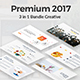 3 in 1 Bundle Premium 2017 Powerpoint Template