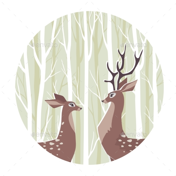 GraphicRiver Deer 21201723