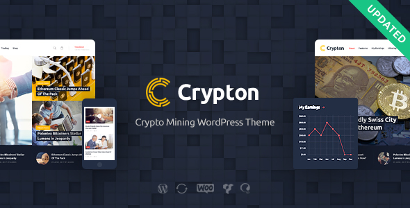 Crypton | Cryptocurrency & Mining WP Theme