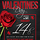 Valentines Day Flyer Template V15 - GraphicRiver Item for Sale