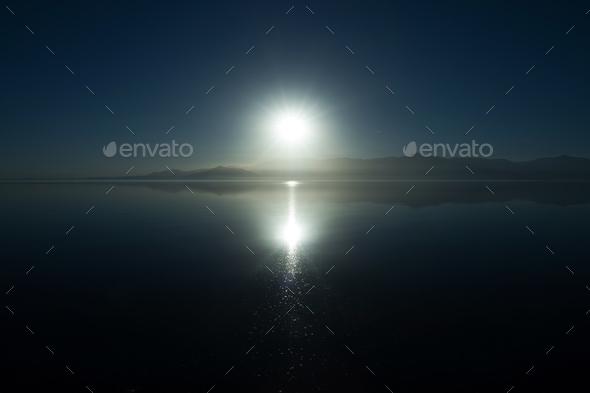 Salton Sea Scenic Vista - Stock Photo - Images