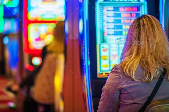 Lucky Casino Player - Stock Photo - Images