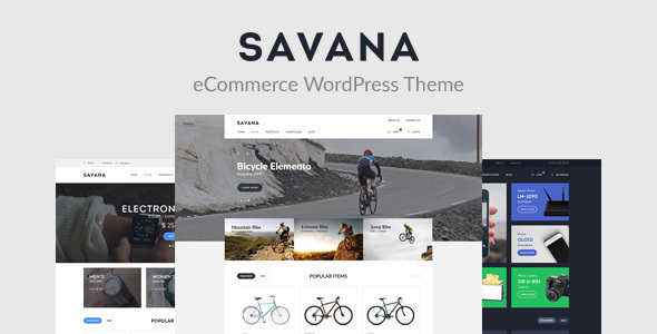 Savana - Multi Concept WooCommerce WordPress Theme for eCommerce