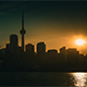 Sunset in Toronto - VideoHive Item for Sale