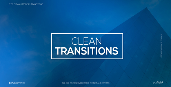 Clean Transitions (Transitions) After Effects Templates | F5-Design com