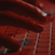 Typing on Keyboard in Red mood Lighting - VideoHive Item for Sale