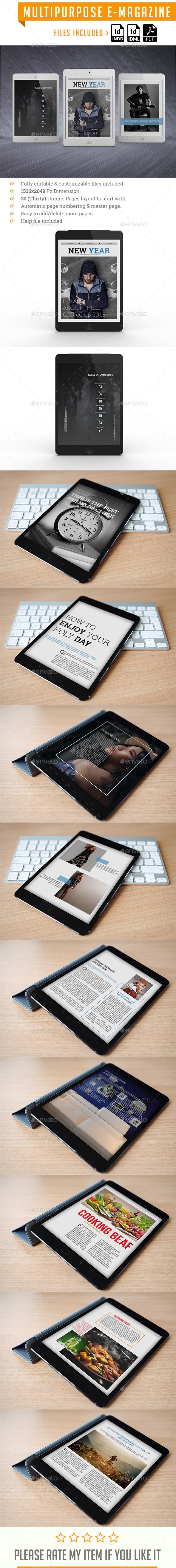 Multi purpose E-Magazine - Digital Magazines ePublishing