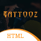 TattooZ - Responsive  HTML5 Template - ThemeForest Item for Sale