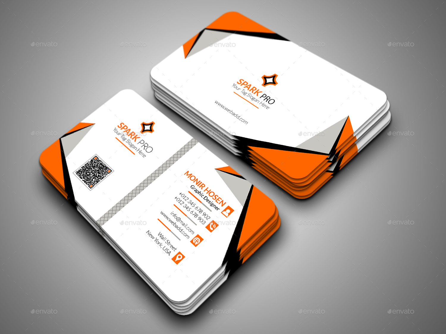 Business Card Bundle by artmap | GraphicRiver