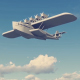 "Seaplane ""Dornier"" - VideoHive Item for Sale"
