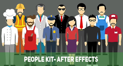 People Kit- After Effects