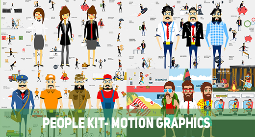 People Kit- Motion Graphics