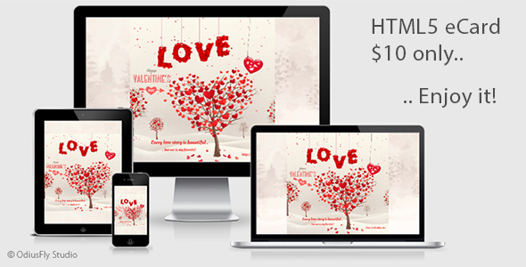 Valentine Card v1 - CodeCanyon Item for Sale