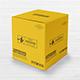 Square Card Board Box Mockup - GraphicRiver Item for Sale