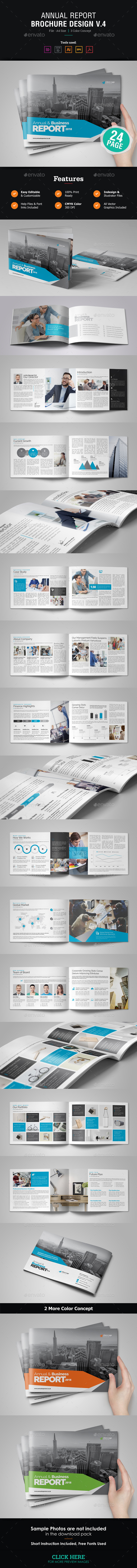 Annual Report Design v4 - Corporate Brochures