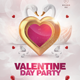 White Valentine Day Flyer