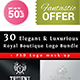 Elegant Luxurious Royal Boutique Logo Bundle - GraphicRiver Item for Sale
