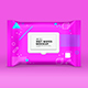Cleansing Wipes Wrapper Mock Up - GraphicRiver Item for Sale