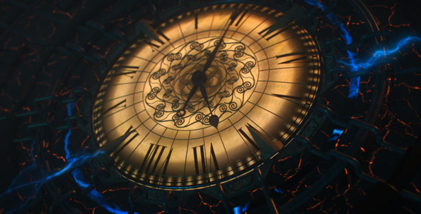 VideoHive Mechanical Big Clock 21203080