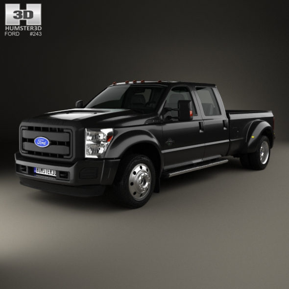 Ford F-450 Crew Cab XL 2015 - 3DOcean Item for Sale