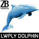 Lowpoly Dolphin 001