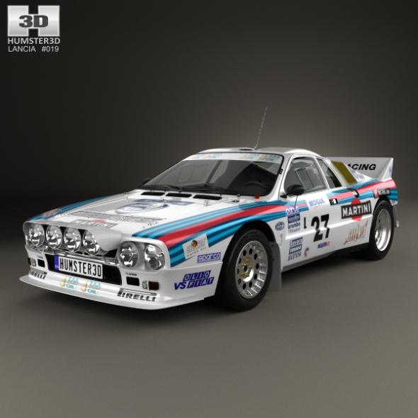 Lancia Rally 037 WRC Group B 1983