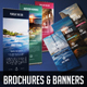 Travel Brochure and Banner Set