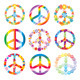 Set Of Peace Symbols - GraphicRiver Item for Sale
