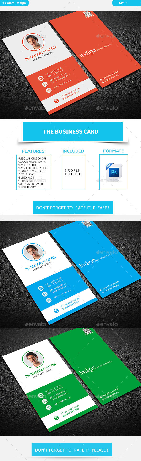 GraphicRiver Creative Business Card 19306653