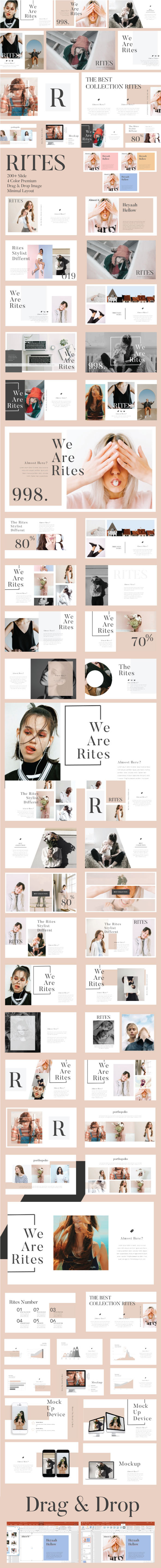 Rites Creative Presentation Template - Creative PowerPoint Templates