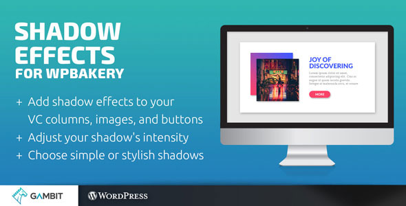 Shadow Effects for WPBakery Page Builder (formerly Visual Composer) - CodeCanyon Item for Sale