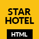 STAR HOTEL - Hotel, Resort & Restaurant HTML5 Template