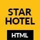 STAR HOTEL - Hotel, Resort & Restaurant HTML5 Template