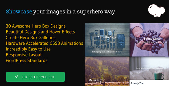 Hero Boxes for WPBakery Page Builder (formerly Visual Composer) - CodeCanyon Item for Sale
