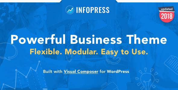 Infopress Multi-Purpose Business WordPress Theme - Business Corporate