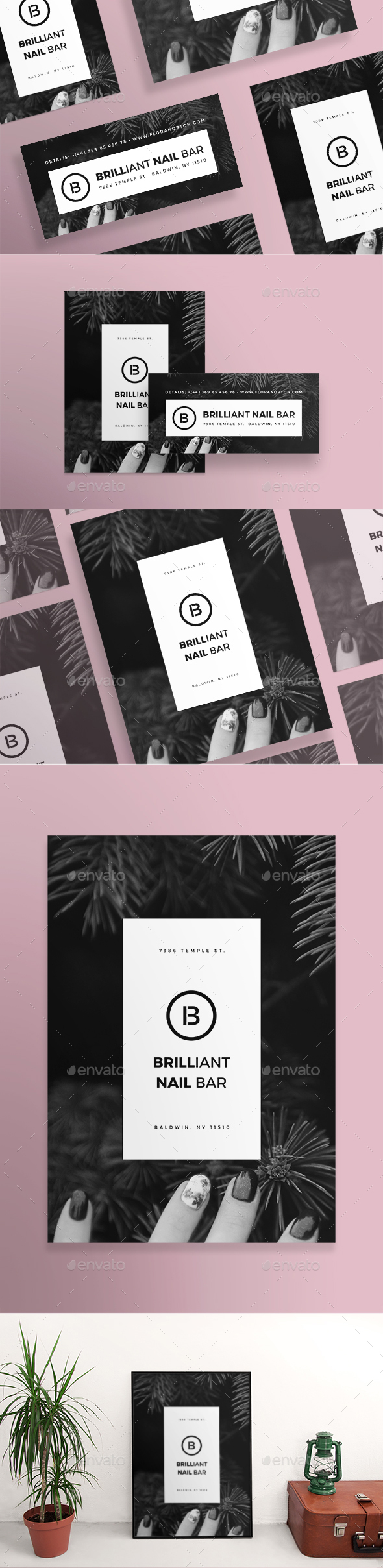 Nails Bar Flyers - Miscellaneous Events