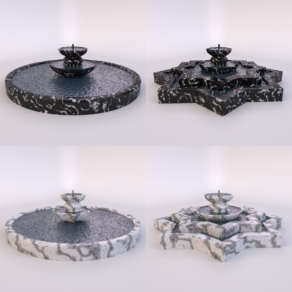 Fountain-1 - 3DOcean Item for Sale