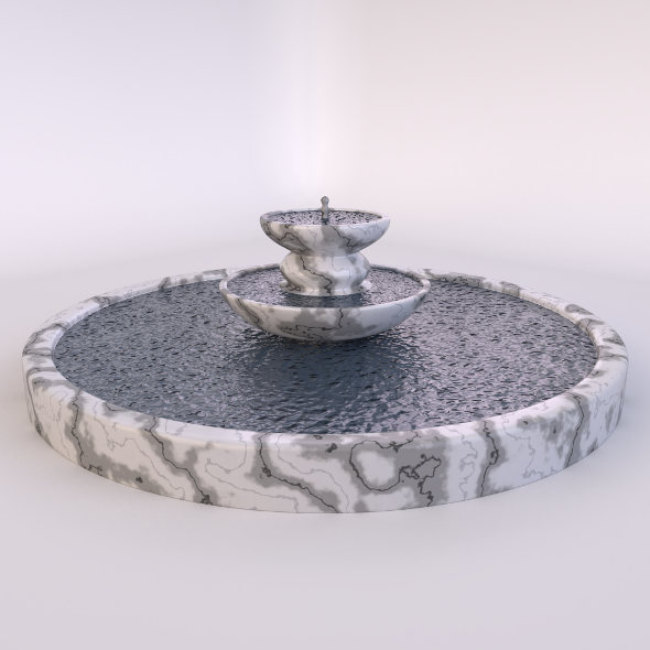 Fountain-2 - 3DOcean Item for Sale