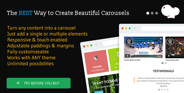 Carousel Anything for WPBakery Page Builder (formerly Visual Composer) - CodeCanyon Item for Sale