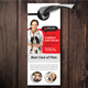 Pets Doctor Clinic Door Hanger Template
