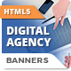 HTML5 Animated Banner Ads - Digital Agency (GWD)