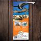 Travel & Tourism Business Door Hanger