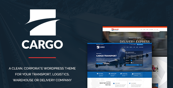 Cargo – Transport & Logistics Theme