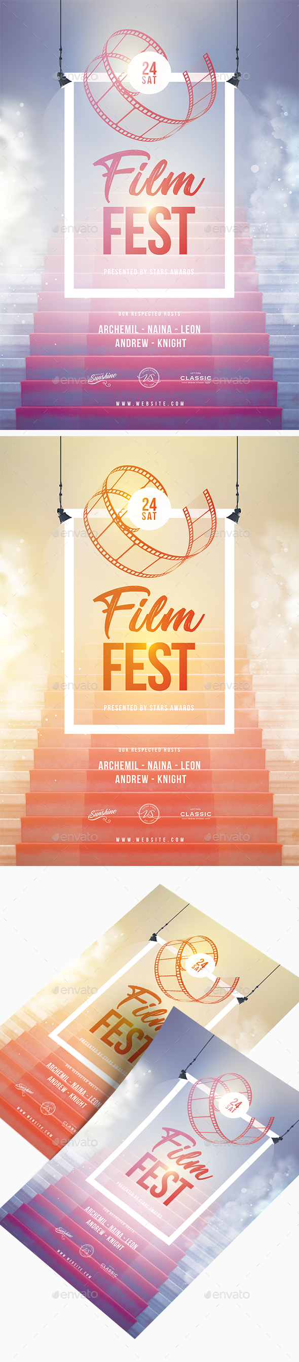 Film Festival Flyer - Events Flyers