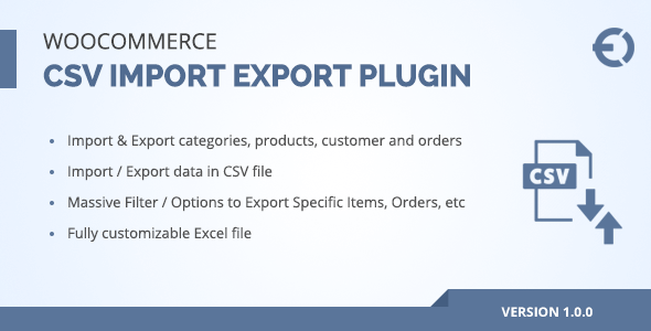 CodeCanyon WooCommerce CSV Import Export Orders Customers Category Plugin 21204381