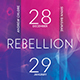 Rebellion Trance Flyer - GraphicRiver Item for Sale