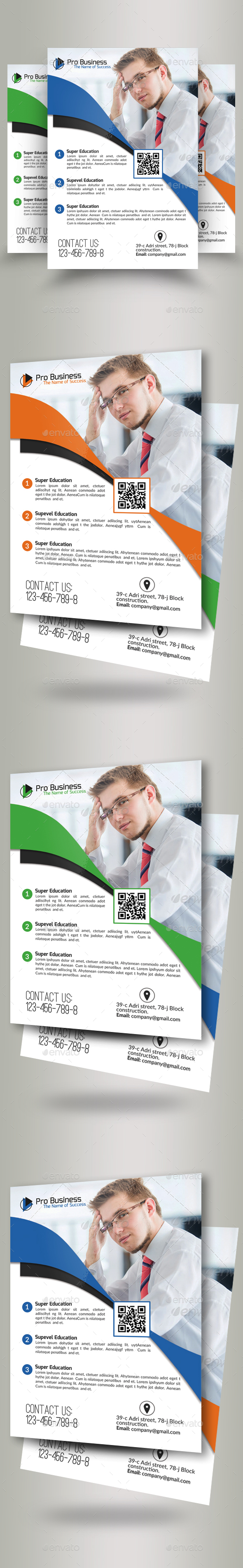 Creative Business Flyer Psd - Corporate Flyers