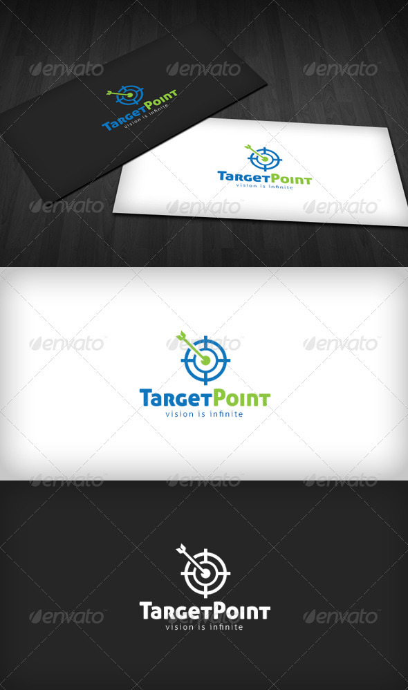 Target Point Logo - Symbols Logo Templates