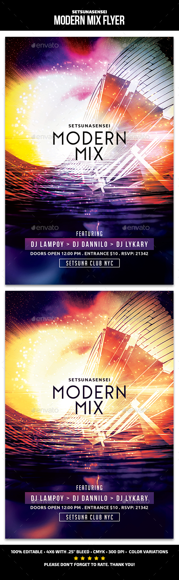 Modern Mix Flyer - Events Flyers