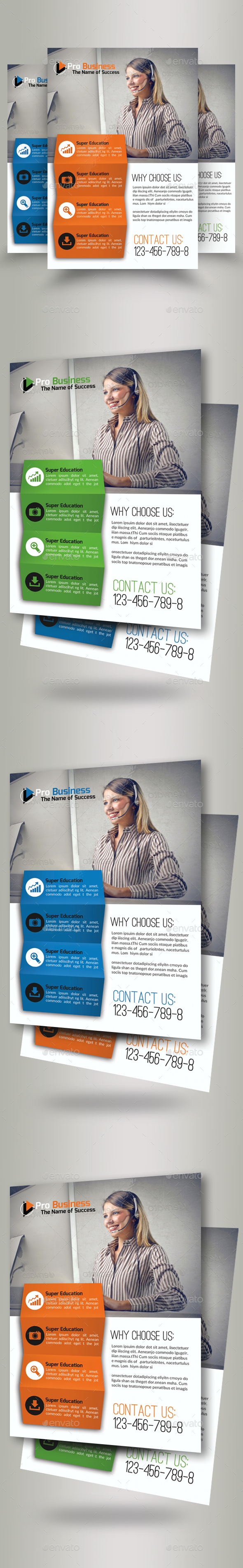 Business Dealing Flyers Psd - Corporate Flyers